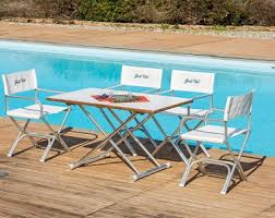 high end aluminum formica deck table a8000ft forma marine
