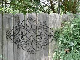 Garden Fence Decor Garden Ideas Decorative Fence Ideas Outdoor Wall Decor Ideas