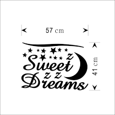 wall sticker letters sweet dreams moon stars quote wall decor for wall sticker letters sweet dreams moon stars quote wall decor for bedroom removable vinyl wall sticker zy 8245 in wall stickers from home garden on