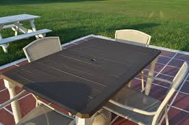 Replacement Glass Table Tops For Patio Furniture by Keep Calm And Decorate Loving My New Patio Table
