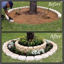 12 diy gardening ideas diy ideas tree rings and creative