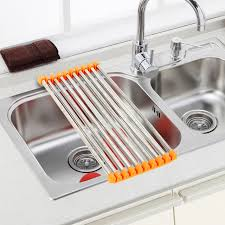 Aliexpresscom  Buy Folding Dish Drying Rack Drainer Modern Over - Kitchen sink drying rack