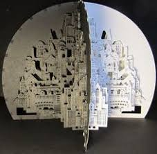 Ingrid Siliakus Origami Architect Ingrid Siliakus And Her Cities Made Of Cut And