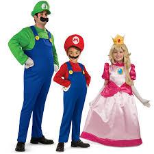 luigi costume spirit halloween power up super mario costumes for kids and parents