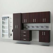 Garage Organization Systems Reviews - dark brown wood flow wall garage storage storage