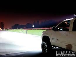 jeep light bar at night the u0027burb 2007 chevy 2500 suburban 8 lug hd truck magazine