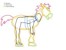 toy story bullseye saddle shojosensei deviantart