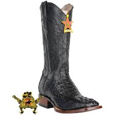 square toe hornback boots caiman alligator cowboy boots