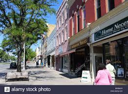 Canandaigua New York Map by Usa New York Canandaigua Ny Main Street Shops Stock Photo Royalty