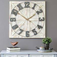 Electronic  Stratton Home Decor  Wall Clocks  Wall Decor  The