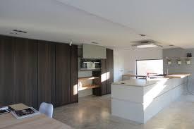 kitchen floor beige polished concrete kitchen floor oak dining beige polished concrete kitchen floor oak dining table butcher block countertop white island base