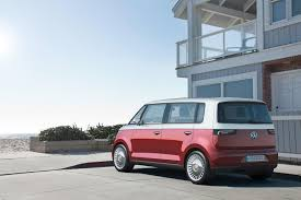 volkswagen electric concept light your incense the vw type 2 van might come back as a battery