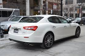 maserati white sedan 2017 maserati ghibli sq4 s q4 stock m562 for sale near chicago