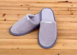 100 percent cotton velour velvet disposable hotel slippers