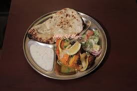 cuisine indienne naan tandoori breast with naan picture of thali cuisine indienne