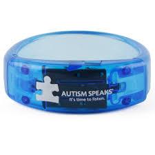 blue bracelet images Light it up blue bangle bracelet glows blue autism speaks jpg