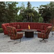 Outdoor Sectional Sofa O W Lee Monterra Outdoor Sectional Sofa With Cushions Wilson U0027s