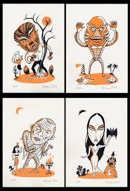 halloween art prints here lies richard sala halloween a selection of halloween art