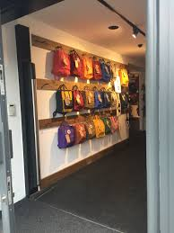 Backpack Storage by This Picture Shows A Backpack Display At A Fjallraven Store In