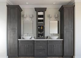 Grey Shaker Kitchen Cabinets Ready To Assemble Bathroom Vanities Bathroom Vanities All Home
