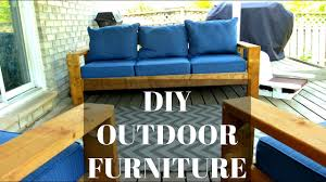Cheap Outdoor Sofa Diy Outdoor Couch U0026 Chairs Cheap U0026 Easy Hack Youtube