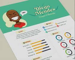 Illustrator Resume Templates 50 Simple U0026 Creative Resume Cv Design Ideas Examples For 2017