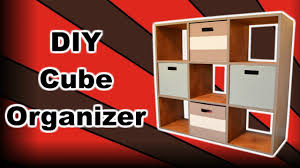 System Build 6 Cube Storage by Diy Cube Organizer Youtube