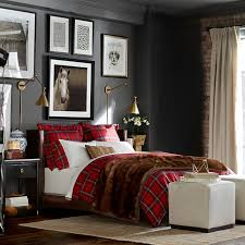 Covered Duvet Tartan Bedding Red Williams Sonoma