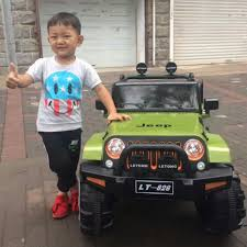 mini jeep wrangler for kids new product authorized inside play mini electric car for kids to
