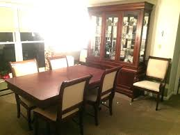 broyhill dining room sets broyhill dining table and chairs attic heirlooms dining table