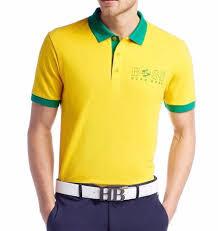 The Flag Of Brazil Brazil Polo Men U0027s Clothing Ebay