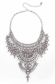 crystal silver necklace images Statement necklaces for women nordstrom jpg