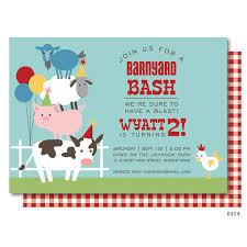 farm birthday invitation barnyard birthday invitation farm