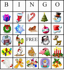 Free Printable Halloween Bingo Cards With Pictures Christmas Bingo 4 Kids Cakes