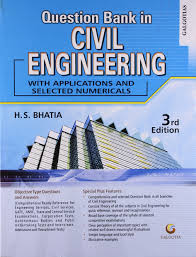 buy qustion bank in civil engineering book online at low prices in