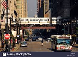 Cta Bus Route Map by Cta Chicago Stock Photos U0026 Cta Chicago Stock Images Alamy