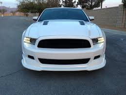 mustang gt rtr rtr mustang front chin spoiler 1398 7005 01 13 14 gt v6 free