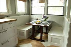 built in bench in kitchen bench and table best small breakfast