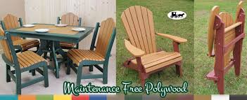 Polywood Patio Furniture Outlet by The Wood Carte Amish Furniture Superstore Queensbury Ny