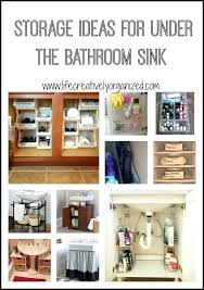 bathroom sink organization ideas intricate storage for bathroom sink creative sink