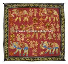 home decor modern embroidered patchwork thread work indian