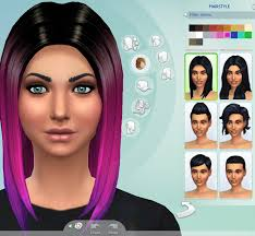 custom hair for sims 4 hair non default ombre hair the sims 4 forum mods sims