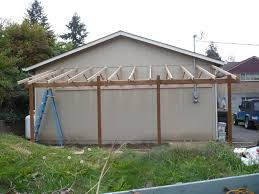 lean to carport build the garage journal board porch