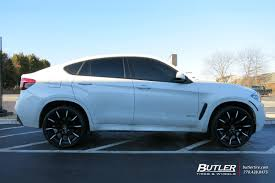 rims for bmw x6 bmw x6 with 22in lexani css15 wheels exclusively from butler tires