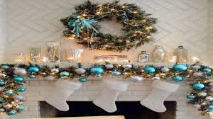 fireplace mantel christmas decorating ideas christmas lights