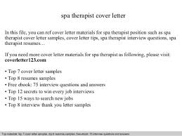 international massage therapist cover letter