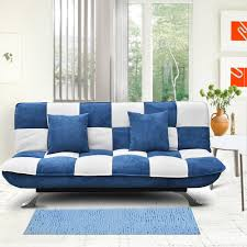 Zara Sofa Bed Auspicious Home Zara Sofa Bed In White Blue Color Buy