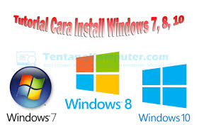 tutorial cara membuat line sticker tutorial cara install windows 7 8 10 lengkap gambar