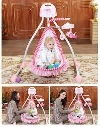 Electric Rocking Chair Elegant Music Baby Cradle Rocking Bed Electric Rocking Chair