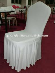 fancy chair covers polyester banquet chair cover white party depot pertaining to